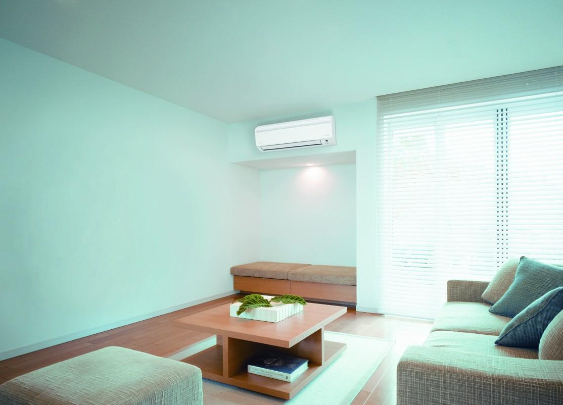 Сплит-система Daikin серии FTXN в просторной комнате
